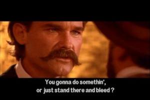 Who does Wyatt Earp say
