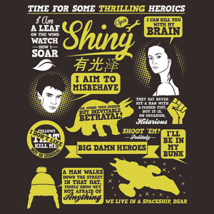 Firefly / Serenity Quotes by Tom Trager