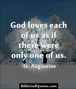 am constantly amazed by how god loves he loves us all ...