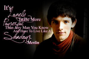 Merlin Quotes Bbc Isn't it amazing to find and