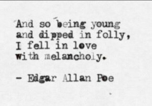 Edgar allan poe, quotes, sayings, fall in love, poetry