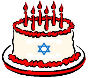 Happy Birthday Israel Cake