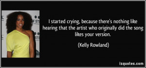 More Kelly Rowland Quotes