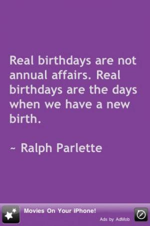 100 Birthday Quotes! Screenshot
