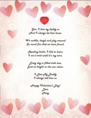 happy valentines day poems