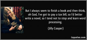 More Jilly Cooper Quotes