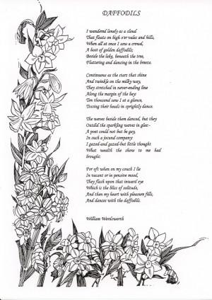 Daffodils by William Wordsworth (1770-1850)