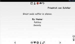 Quotes English & German Screenshot 3