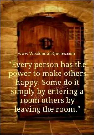 Making someone happy