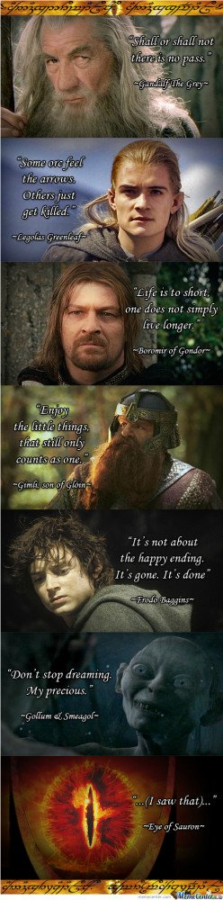 Lotr Megamix Quotes