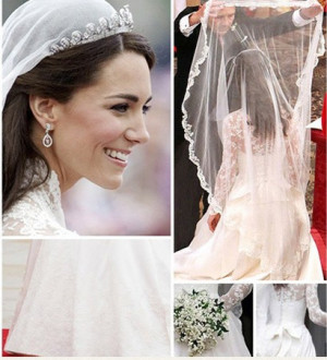 Phandhian Hairstyle: kate middleton wedding dress design