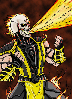 Scorpions Mortal Kombat Rage