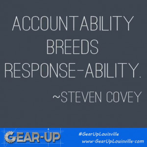 ... Quotes, Breeds Response, Responibility Quotes, Accountable Quotes