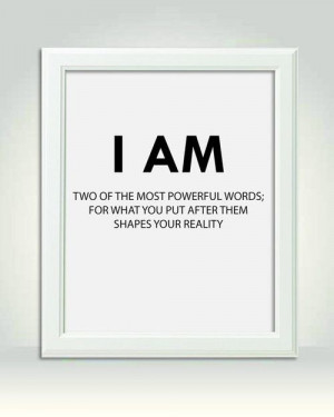 Two of the most powerful words