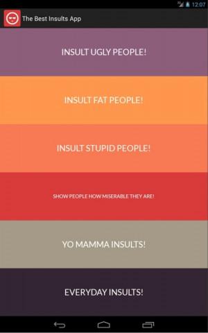 Best Insults - Funny Comebacks- screenshot