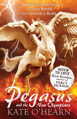 """Start by marking """"Pegasus and the New Olympians (Pegasus, #3)"""" as ..."""