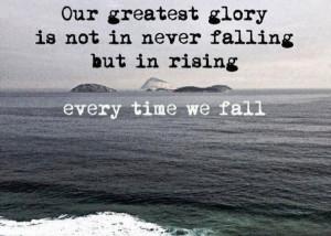 Falling and Rising