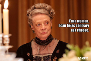 Maggie Smith Downton Abbey Funny