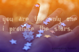 cute, hand, lyrics, promise the stars, quote, stars, text, we the ...