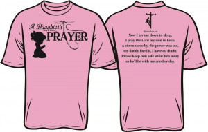Lineman's Daughter Prayer Shirt
