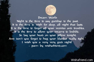 world night is the time to say goodbye to the past it is the time ...