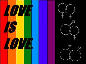 Love Knows No Gender Love knows no gender.