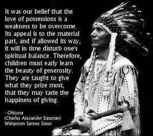nocturnals-on-narcotics:NATIVE AMERICAN QUOTES AND SAYINGS / Ohiyesa ...