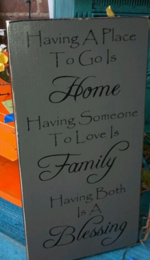 Signs Sayings Wooden Homes, Blessed Wooden, Homes Sayings Wooden Signs ...