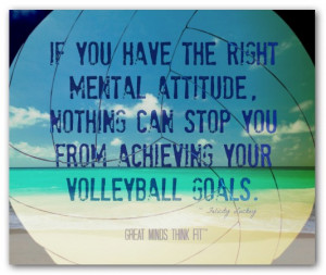 Beach Volleyball Posters With Inspirational Volleyball Quotes