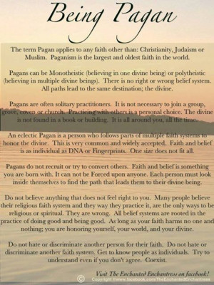 Being Pagan ☆ this is the best explanation I have found..