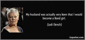 More Judi Dench Quotes