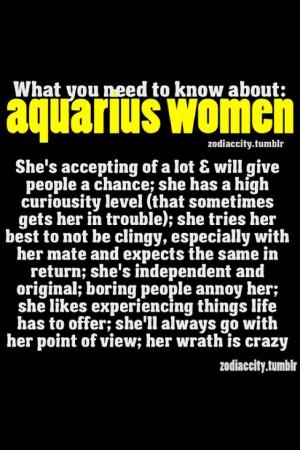 Aquarius Woman Quotes Aquarius women.