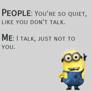 funny quotes funny minion quotes