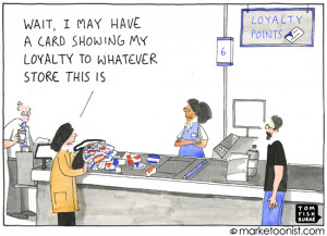 """... loyalty. Saatchi CEO Kevin Roberts even defines a brand as """"loyalty"""