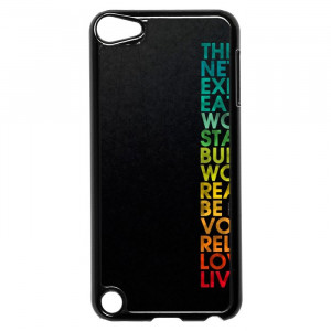 Multiple Positive Words Motivational Quotes iPod Touch 5 Case