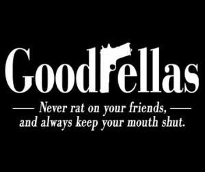 Wayward Tees > Movie T-Shirts > Goodfellas T-Shirts > Goodfellas Logo