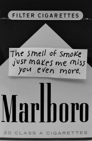 Funny you both hate smoking