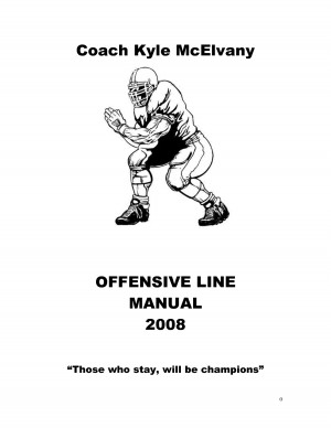 Offensive Line Manual by olliegoblue26