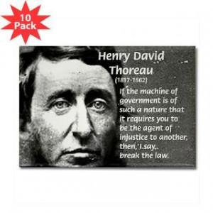 Henry David Thoreau Civil Disobedience Famous Art Science Quotes
