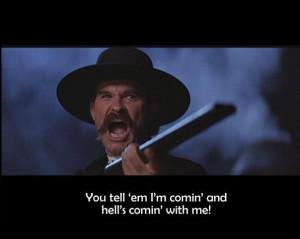 Kurt Russell ~ Wyatt Earp in Tombstone