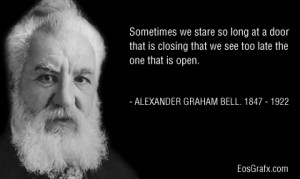 Alexander Graham Bell Communicating With The Future