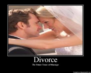 Divorce is the one human tragedy that reduces everything to cash ...