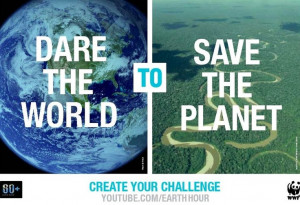 Dare the world to save the planet quote
