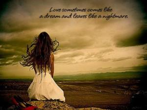 love is like a dream sushiny tags dream love loneliness feelings ...