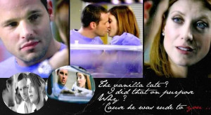 Grey's Anatomy Opening Quotes | Merder Kiss Grey S Anatomy Couples Fan ...