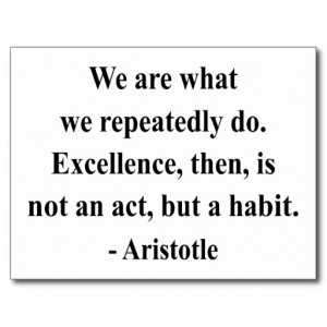 Aristotle Quote 4a Post Cards