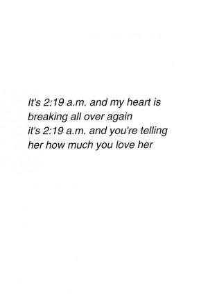 Heartbreak Poem Quote Teen