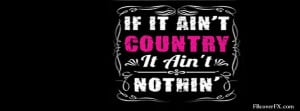 Country Girl Sayings 19 Facebook Cover