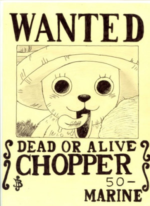 Coloriage One Piece Chopper Docteur Hiluluk