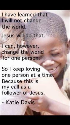 Nashville girl in Uganda-- foster mom of 13. An she's 23. Amazing girl ...